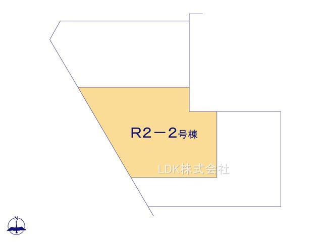 【区画図】新築戸建/ふじみ野市川崎2丁目