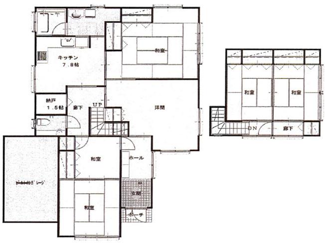 【浴室】大仙市大曲福辺内 中古戸建て住宅