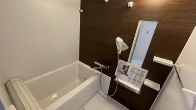 綺麗な浴室も新設!