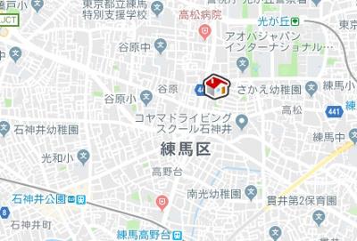 【地図】レオパレスヴィブアン (29760-204)
