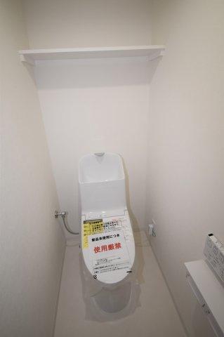 新規交換済みのトイレです。