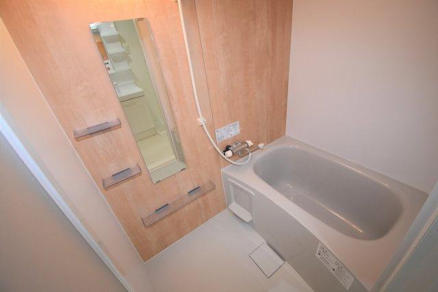 浴室です。新規交換済み