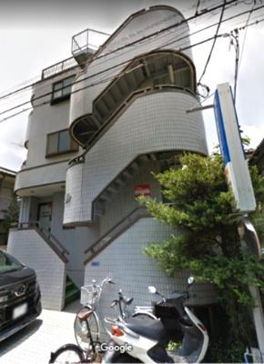 【外観】【一棟売りアパート】朝霞市本町◆鉄骨造地◆下1階車庫付