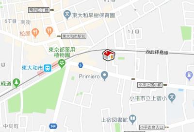 【地図】レオネクストルネッタ(54435-106)