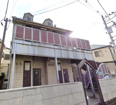 【外観】【一棟売りアパート】富士見市鶴瀬西◆満室稼働中!