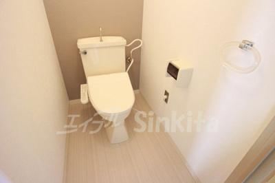 【トイレ】アウロラコート緑地公園
