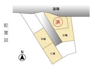 区画図です。B棟