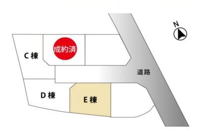 区画図です。D棟