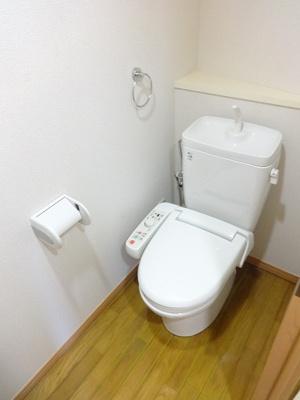 個室タイプのトイレです。