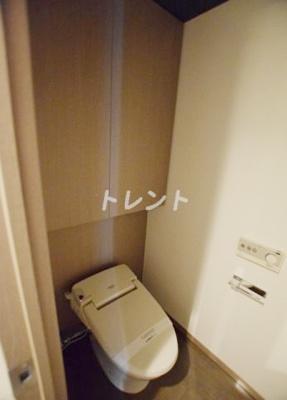 【トイレ】コンフォリア日本橋人形町ノース