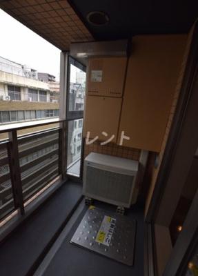 【バルコニー】コンフォリア日本橋人形町ノース