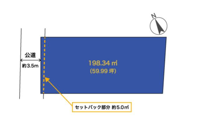 【外観】平塚市四之宮 売地
