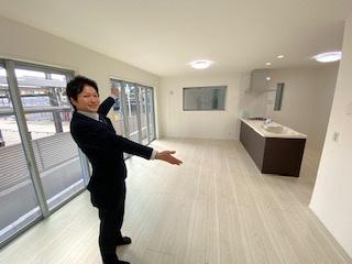 新築ナビゲーター村田です。 お客様の不安に寄り添います。現地にお越しください!!