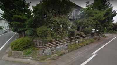 【外観】東南角地(3方角)下佐野町土地