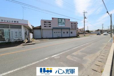 【外観】東高泊1393番 店舗付き土地