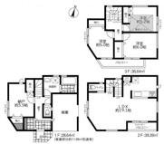 横浜市港南区野庭町 新築戸建て 全5棟 上永谷駅まで徒歩18分の画像