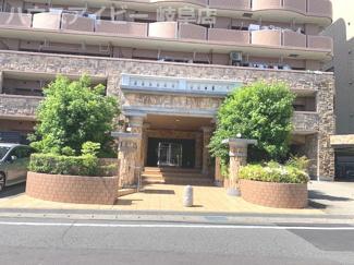 シャトレ愛松岐阜Ⅱ6階部分 日当り・眺望良好です♪オートロック完備で安心!敷地内駐車場あり!