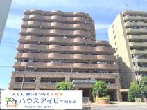 シャトレ愛松岐阜Ⅱ6階部分 日当り・眺望良好です♪オートロック完備で安心!敷地内駐車場あり!の画像