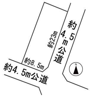 【区画図】56472 岐阜市岩地土地