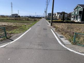 【前面道路含む現地写真】56472 岐阜市岩地土地