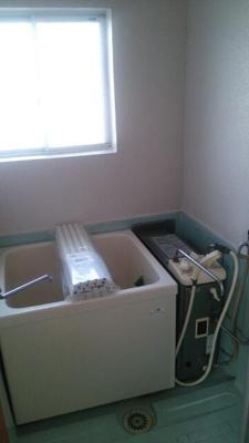 【浴室】旭町コーポラス