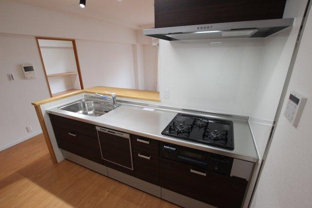 【キッチン】アクセス長住中央公園