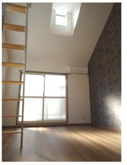 明るい室内です。