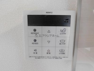 簡単操作で追焚保温・自動湯張りが出来ます