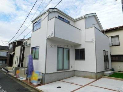 【外観】入間市小谷田2丁目・全1棟 新築一戸建 1号棟