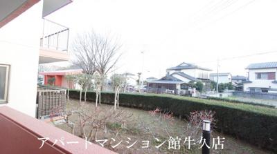 【展望】牛久ロイヤルレジデンスAⅡ型
