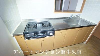 【キッチン】牛久ロイヤルレジデンスAⅡ型