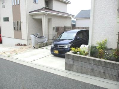 【駐車場】神戸市須磨区桜の杜中古戸建