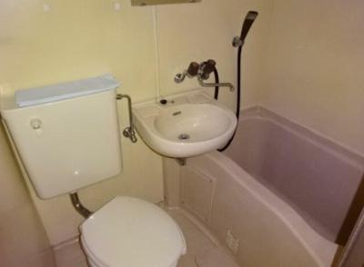 【浴室】1st.ハイツソエダ