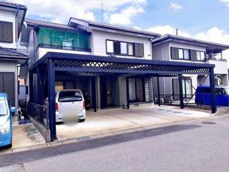 揖斐郡大野町 中古住宅 駐車場並列4台可能 折板ガレージ付き!2016年リフォーム済みの物件です。