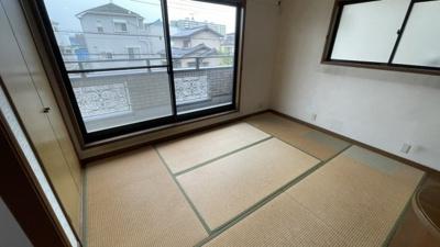2階の和室はクローゼットがついてます