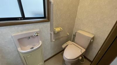 独立手洗い器付き