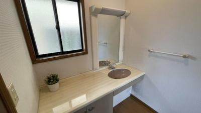 3階にも洗面台があります