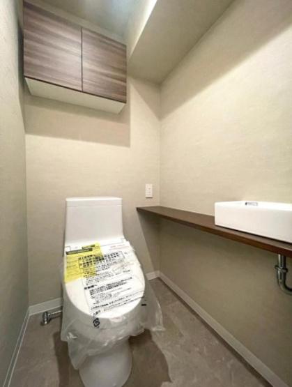 クレッセンコート浅草:ウォシュレット機能付きトイレです!