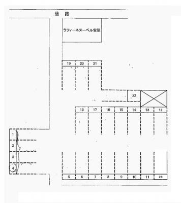 【区画図】安里駅前駐車場