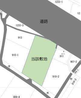 【土地図】筑後市大字久富 土地