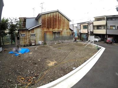 【前面道路含む現地写真】堺市堺区錦綾町 土地 新築