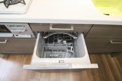 キッチンには食器洗い乾燥機付き