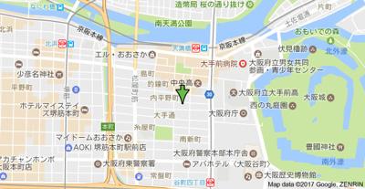 【地図】サンビラ大手前