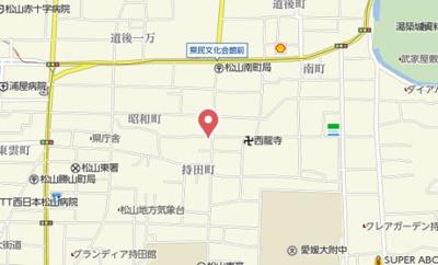【地図】Lacasa持田