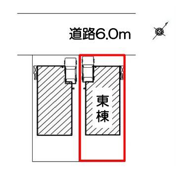 【区画図】静岡市清水区川原町 新築一戸建て 東棟 FF
