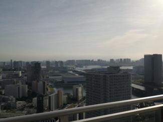 レインボーブリッジ、富士山を望む眺望 (天候による)