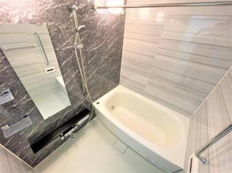 浴室換気乾燥暖房機付 雨の日の洗濯物の乾燥等にも重宝します。