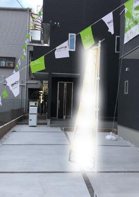 尼崎市塚口本町4丁目 新築一戸建て 2021/8/22現地撮影