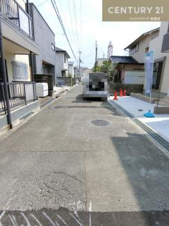【前面道路含む現地写真】高槻市千代田町