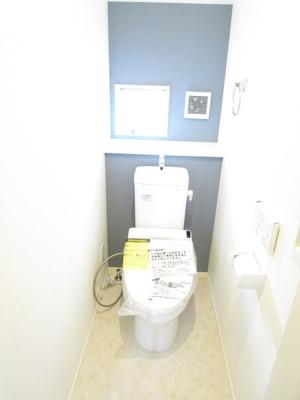 2階にも嬉しいトイレ設置!